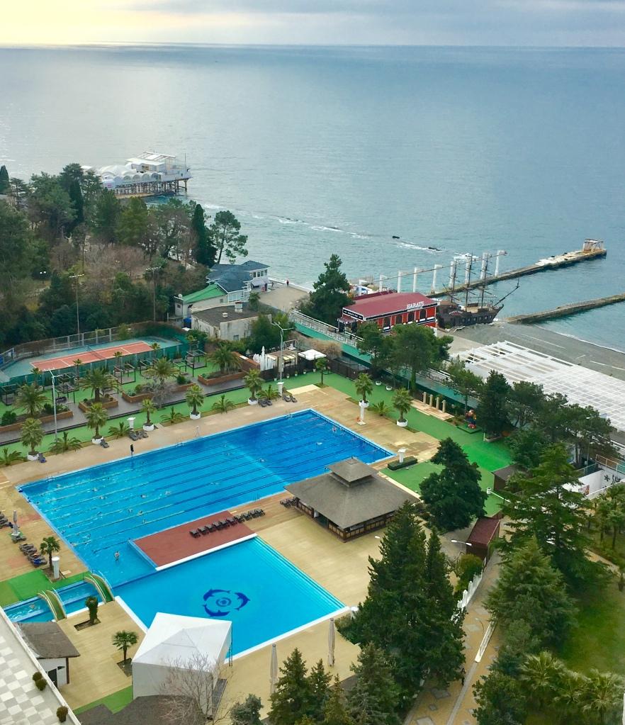 Hotelli Zhemtshuzhina uima-altaat