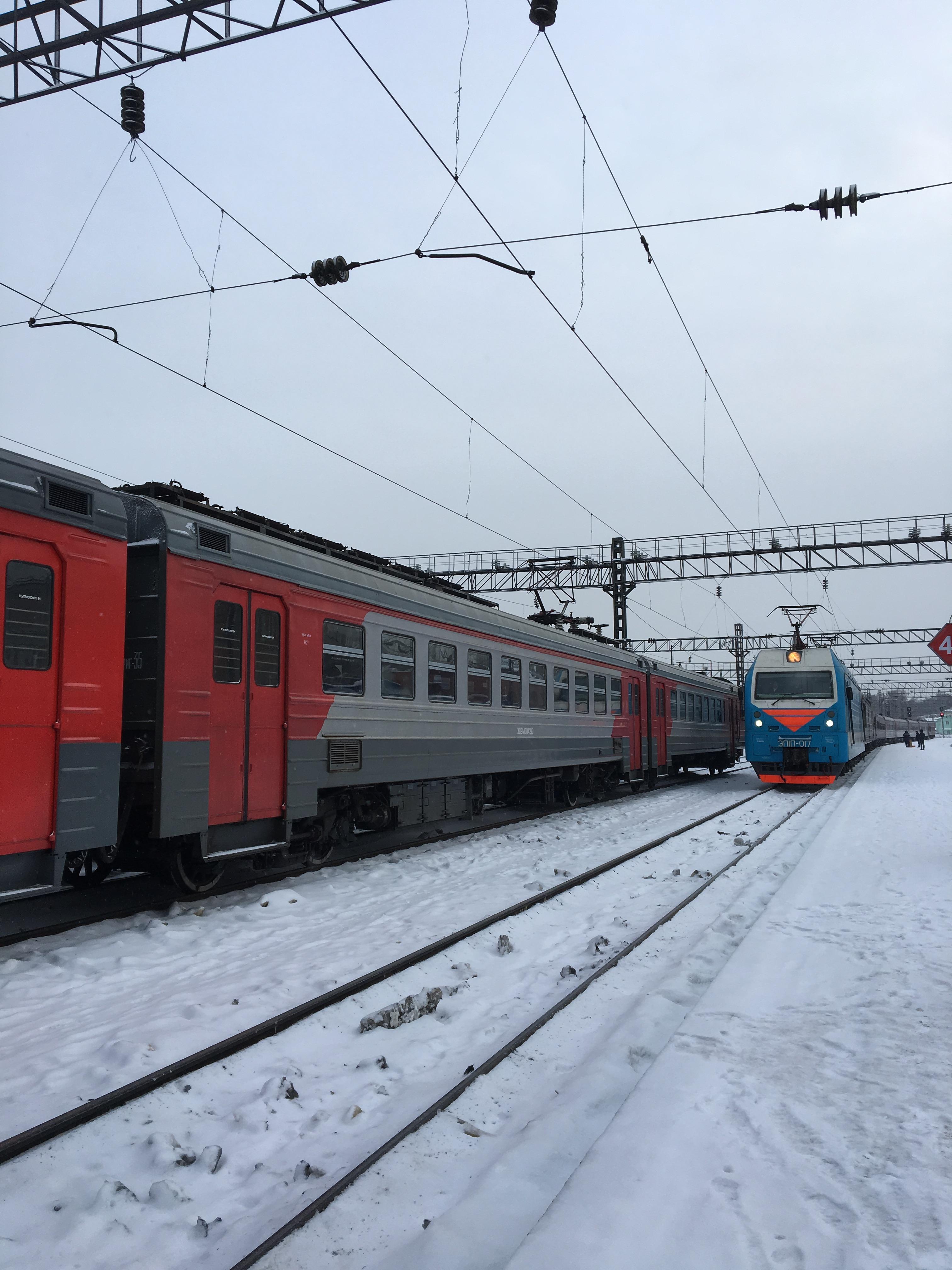 Trans-Siberian lähestyy