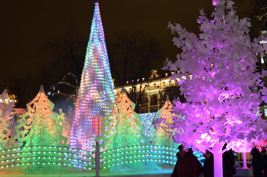 Moskovan jouluvalot